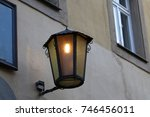 street light   vintage street... | Shutterstock . vector #746456011