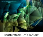 triangles background  polygonal