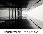abstract image of looking up at ... | Shutterstock . vector #746474569