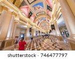 macau  china   sept 2017  the... | Shutterstock . vector #746477797