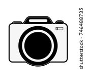 photographic camera icon image | Shutterstock .eps vector #746488735