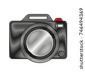 photographic camera icon image | Shutterstock .eps vector #746494369
