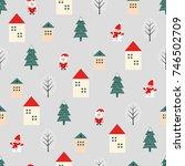 Xmas Tree  Santa Claus  Houses...