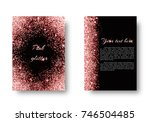 bling background with... | Shutterstock . vector #746504485