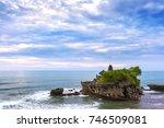 the pilgrimage temple of pura... | Shutterstock . vector #746509081
