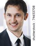 close up portrait of a... | Shutterstock . vector #74653708