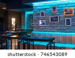 Small photo of Lobby bar or lounge bar interior