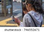 tokyo  japan   october 30th ... | Shutterstock . vector #746552671