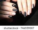 manicure   beauty treatment... | Shutterstock . vector #746559007