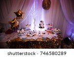 birthday  kendi bar. | Shutterstock . vector #746580289