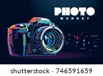 Photo Camera. Banner In A...