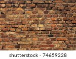 Detail Of The Brick Walls Of...