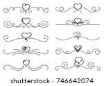 calligraphic design elements....