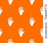 vr manipulator pattern repeat...   Shutterstock .eps vector #746649775