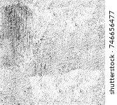 seamless grunge black white.... | Shutterstock . vector #746656477