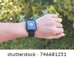 chiang mai   thailand  ... | Shutterstock . vector #746681251