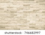 sandstone wall picture is a... | Shutterstock . vector #746682997