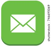 e mail icon design vector | Shutterstock .eps vector #746695069