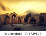the church of panagia  virgin... | Shutterstock . vector #746739577