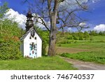 White Rural Roadside Shrine