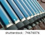 Closeup Of Vacuum Tubes From...