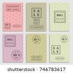 collection of sale banners ... | Shutterstock .eps vector #746783617