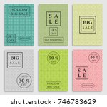 collection of sale banners ... | Shutterstock .eps vector #746783629