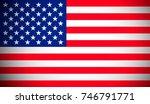 american flag   Shutterstock . vector #746791771