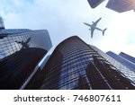 3d rendering low angle view of... | Shutterstock . vector #746807611