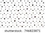 dark red vector abstract... | Shutterstock .eps vector #746823871