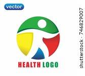 health logo 4 | Shutterstock .eps vector #746829007