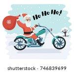 vector cartoon funny comic...   Shutterstock .eps vector #746839699