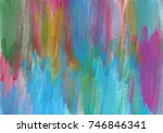 paint like graphic illustration ... | Shutterstock . vector #746846341