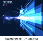 abstract background vector | Shutterstock .eps vector #74686693