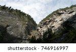 viamala gulch with zillis ... | Shutterstock . vector #746916997