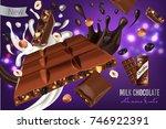 vector realistic illustration... | Shutterstock .eps vector #746922391