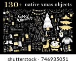 vector collection of native... | Shutterstock .eps vector #746935051