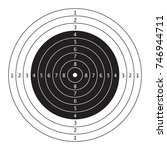 air gun competition and...   Shutterstock .eps vector #746944711