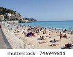 nice  france   september 14 ... | Shutterstock . vector #746949811