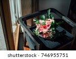 wedding bouquet flower   Shutterstock . vector #746955751