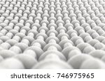 a microscopic close up view of... | Shutterstock . vector #746975965