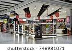 world duty free store in... | Shutterstock . vector #746981071