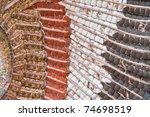 Beautiful Mosaic - stock photo
