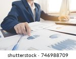 business and finance investment ... | Shutterstock . vector #746988709