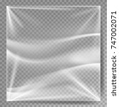 transparent polyethylene vector....   Shutterstock .eps vector #747002071