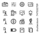 camera and photography icons...