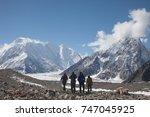 pakistan   3rd august 2017   a... | Shutterstock . vector #747045925