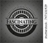 fascinating dark emblem | Shutterstock .eps vector #747131929