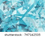 abstract background out of... | Shutterstock .eps vector #747162535