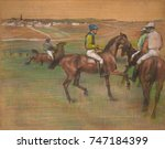 Race Horses  By Edgar Degas ...